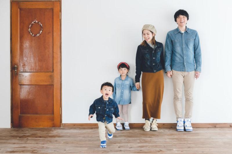家族写真 きりんカメラ